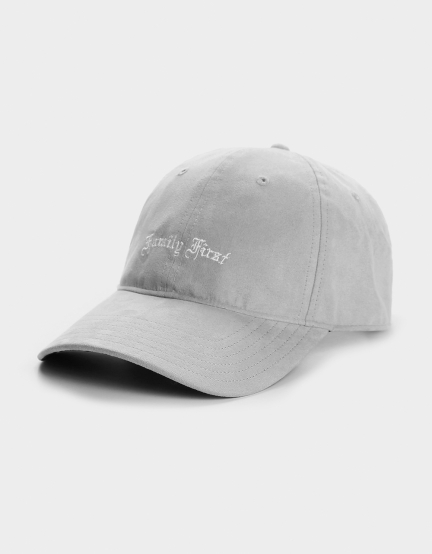C&S WL Family First Curved Cap grey one